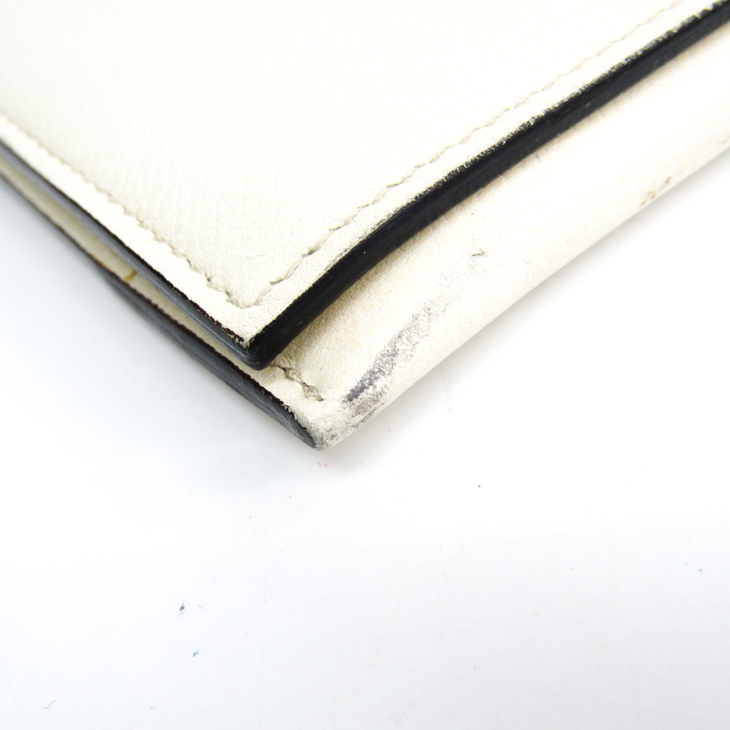 ヴァレクストラ(Valextra) メンズ レザー ドキュメントケース ホワイト
