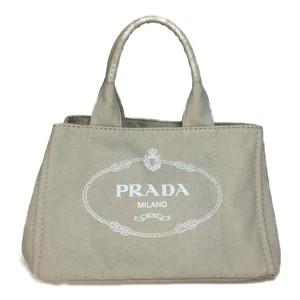 プラダ(Prada) カナパ B1877B CORDA ハンドバッグ ベージュ