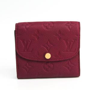 ルイ・ヴィトン (Louis Vuitton) アンプラント ポルトフォイユ・アリアンヌ M64147 レディース モノグラムアンプラント 財布(三つ折り) レザン
