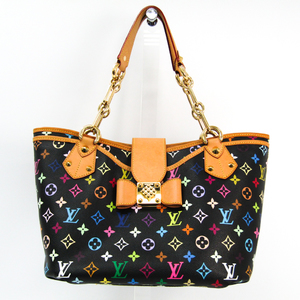 Louis Vuitton Monogram Multicolore Annie GM M40304 Women's Shoulder Bag,Tote Bag Noir