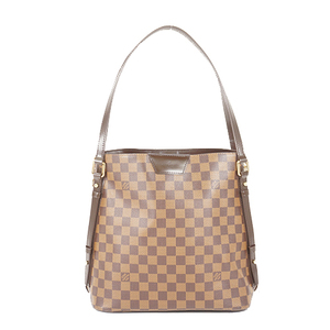 Auth Louis Vuitton Shoulder Bag Damier Cava Rivington N41108