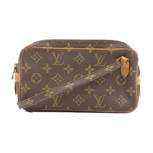 Auth Louis Vuitton Shoulder Bag Monogram Pochette Marly Bandouliere M51828