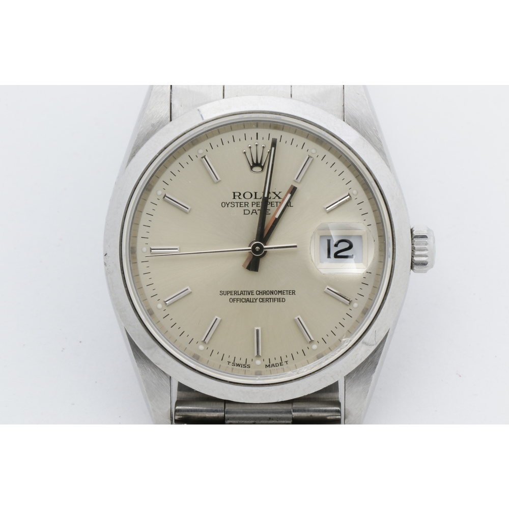 Rolex Automatic Stainless Steel Men's Watch 15200