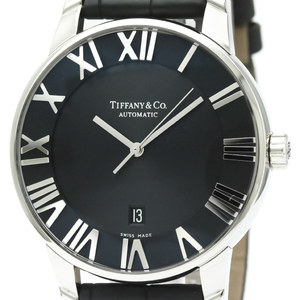 Tiffany Atlas Automatic Stainless Steel Men's Dress Watch Z1810.68.10A10A50A