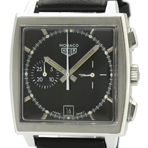 Tag Heuer Monaco Automatic Stainless Steel Men's Sports Watch CS2110
