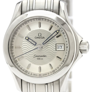 Omega Seamaster Quartz Stainless Steel Women's Sports Watch 2581.31