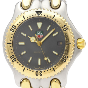 TAG HEUER Sel 200M Gold Plated Steel Quartz Mens Watch S95.206