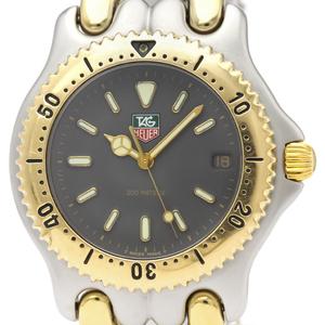【TAG HEUER】タグホイヤー セル 200M ゴールドプレート ステンレススチール クォーツ メンズ 時計 S95.206