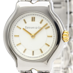 Tiffany Tesoro Quartz Stainless Steel Women's Dress Watch L0112