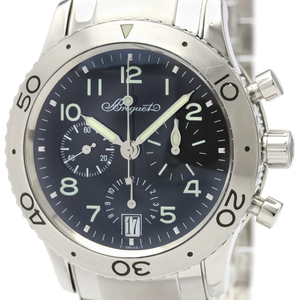 Breguet Transatlantique Automatic Stainless Steel Men's Sports Watch 3820