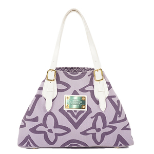 Auth Louis Vuitton Tote Bag Cruise Tahitienne PM M95680 Lilac