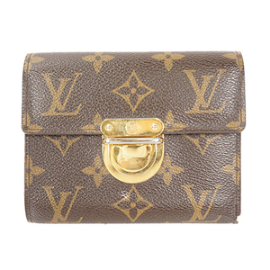 Auth Louis Vuitton Wallet Monogram Portefeuille Koala M58013