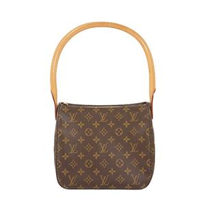 Auth Louis Vuitton Shoulder Bag Monogram Looping MM M51146