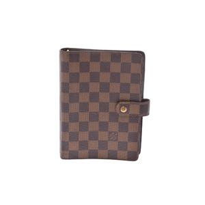 ルイ・ヴィトン(Louis Vuitton) ダミエ 手帳 ダミエ Agenda MM R20701