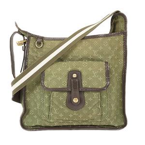 Auth Louis Vuitton Shoulder bag Monogram Mini Besace Mary Kate M92322 Khaki