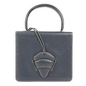 Auth Loewe Barcelona Handbag Women's Handbag Navy