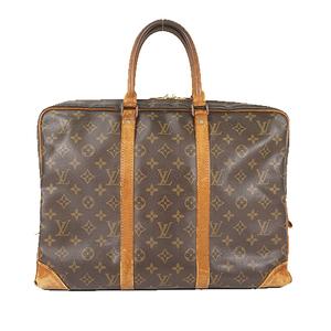 Auth Louis Vuitton Briefcase Monogram Porte Documents Voyage M53361