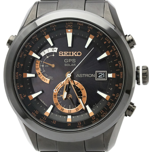 Seiko Astron Solar Ceramic,Titanium Men's Sports Watch SAST001(7X52-0AC0)