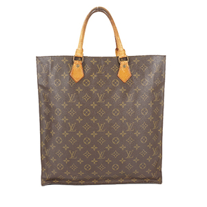 Auth Louis Vuitton Monogram M51140 Sac Plat M51140