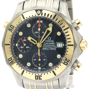 Omega Seamaster Automatic Titanium,Yellow Gold (18K) Men's Sports Watch 2398.80