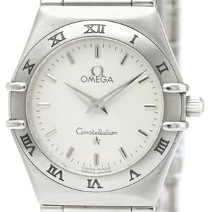 Omega Constellation Quartz Stainless Steel Women's Dress Watch 1572.30