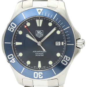 Tag Heuer Aquaracer Automatic Stainless Steel Men's Sports Watch WAB2011