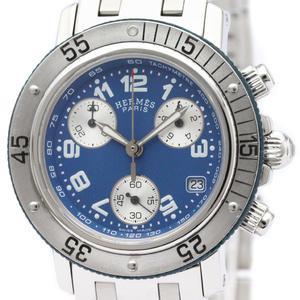 Hermes Clipper Quartz Stainless Steel Women's Sports Watch CL2.317