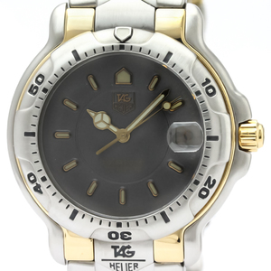 Tag Heuer 6000 Series Quartz Stainless Steel,Yellow Gold (18K) Men's Sports Watch WH1152