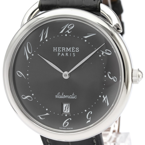Hermes Arceau Automatic Stainless Steel Men's Dress Watch AR4.810