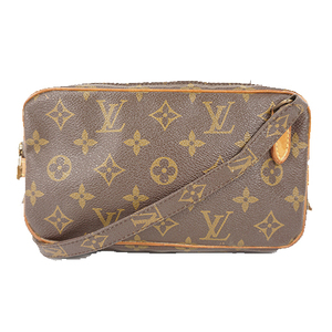Auth Louis Vuitton Shoulder Bag Monogram Pochette Marly Bandouliere M51828