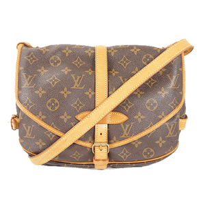 Auth Louis Vuitton Shoulder Bag Monogram Saumur 30 M42256