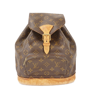 Auth Louis Vuitton Monogram Montsouris MM M51136