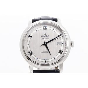 オメガ(Omega) デビル ステンレススチール(SS) メンズ 腕時計 424.13.40.20.02.003プレステージ
