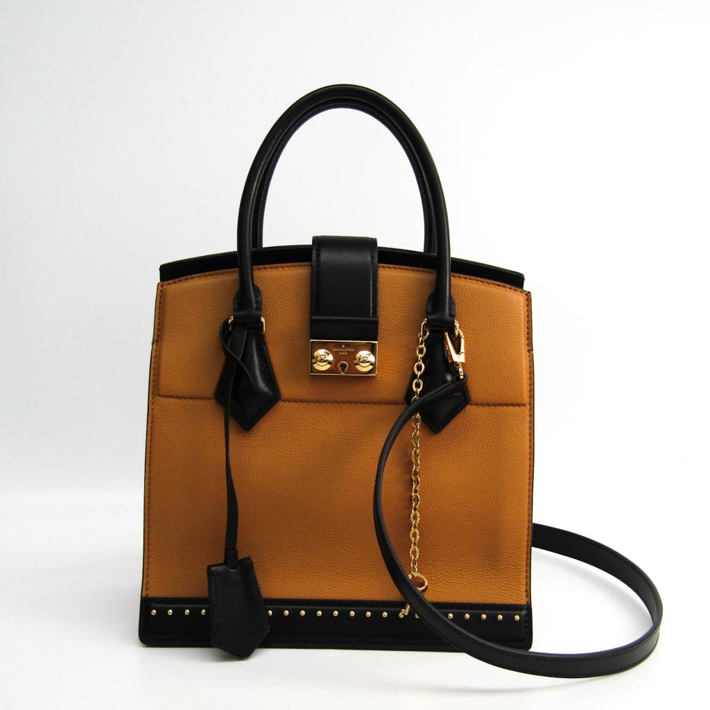 ルイ・ヴィトン (Louis Vuitton) クールマルリーPM レディース レザー ハンドバッグ,ショルダーバッグ ブラック,ブラウン