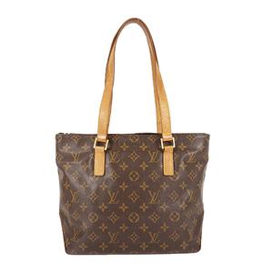 Auth Louis Vuitton Hand Bag Monogram Cabas Piano M51148