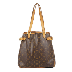 Auth Louis Vuitton Tote bag Monogram Batignolles vertical M51153