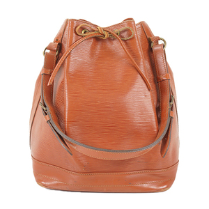 Auth Louis Vuitton Shoulder Bag Epi Noe M44009 Kenyan Brown