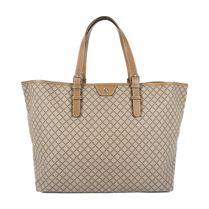 Auth Gucci Tote Bag Diamante 295250 Women's PVC Beige