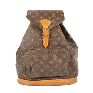 Auth Louis Vuitton Backpack Monogram Montsouris M51135