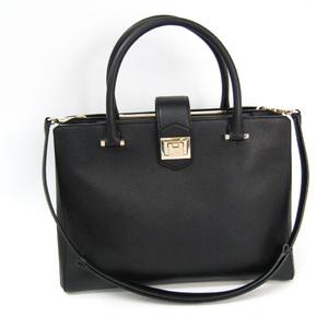 Jimmy Choo Women's Leather Handbag,Shoulder Bag Black