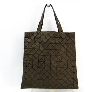 Bao Bao Issey Miyake BB43-AG322 Women's PVC,Polyester Tote Bag Khaki