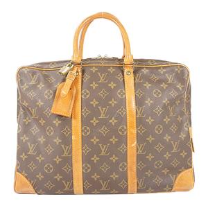Auth Louis Vuitton Monogram Porte Documents Voyage M53361