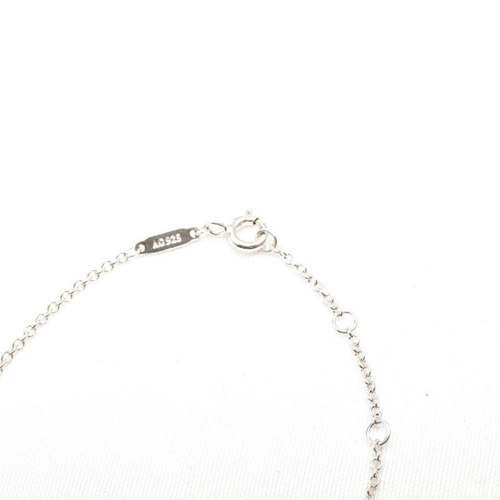 ティファニー (Tiffany) 1837シリーズ サークル ダブルリング スターリングシルバー925 チャームブレスレット シルバー