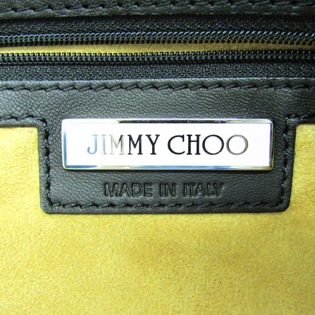 ジミー・チュウ(Jimmy Choo) スターリー/STARRY ユニセックス レザー スタッズ ショルダーバッグ ブラック