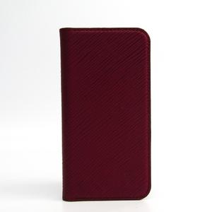 ルイ・ヴィトン (Louis Vuitton) エピ iPhone X & XS・フォリオ M64468 エピレザー 手帳型/カード入れ付きケース iPhone X 対応 フューシャ