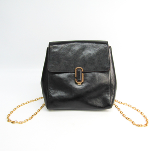 Marc Jacobs J Marc Backpack M0008240 Women's Leather Backpack Black