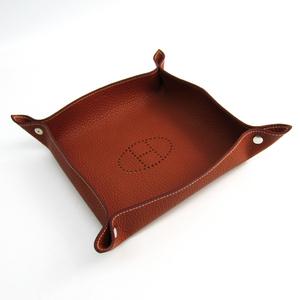 Hermes Leather Accessory Brown Vide Posch Mises et Relances