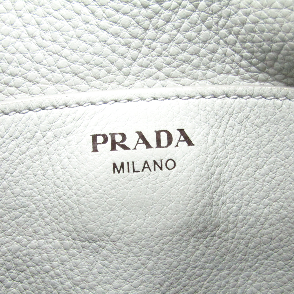 プラダ(Prada) 1BC013 ユニセックス VIT. DAINO ショルダーバッグ ライトグレー