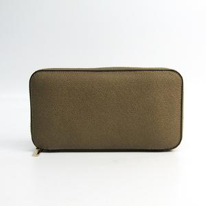 Valextra V9L06  Calfskin Long Wallet (bi-fold) Beige