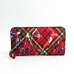 ヴィヴィアン・ウエストウッド(Vivienne Westwood) DERBY CLASSIC 51050023 レディース PVC 長財布(二つ折り) マルチカラー